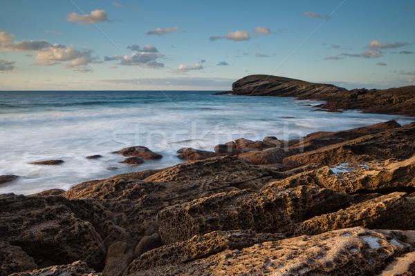 Amazing seascape sunset Stock photo © broker