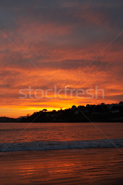 Seascape sunrise Stock photo © broker