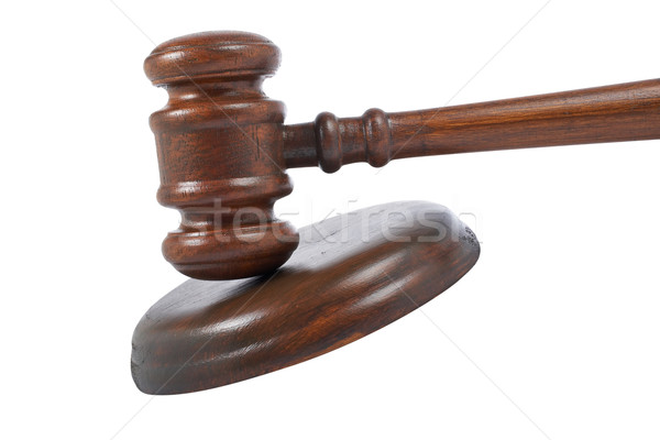 Gavel detail Stock photo © broker