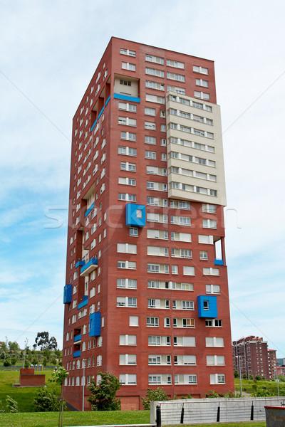 Block of flats Stock photo © broker