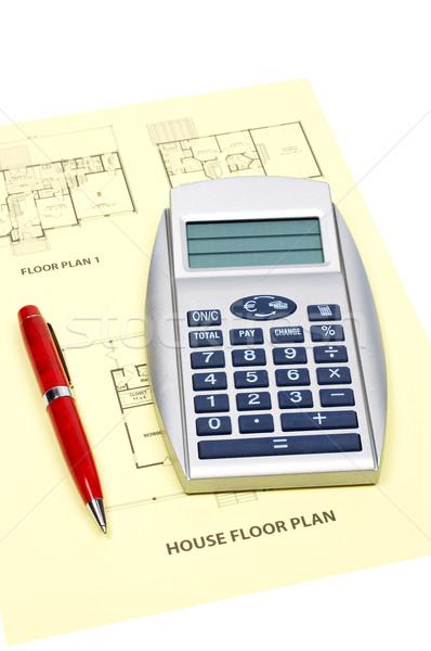 House floor plan Stock photo © broker