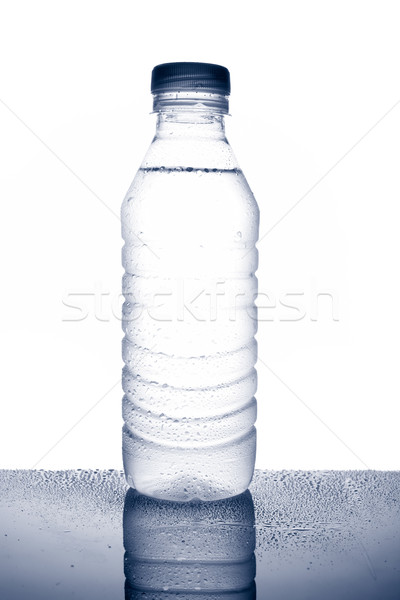 Bottle of mineral water with droplets Stock photo © broker