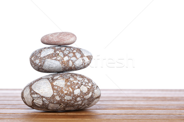 Stacked stones Stock photo © broker