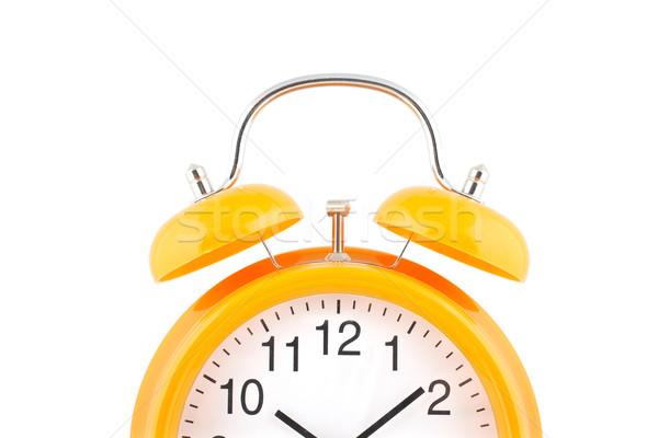 Yellow alarm clock Stock photo © broker