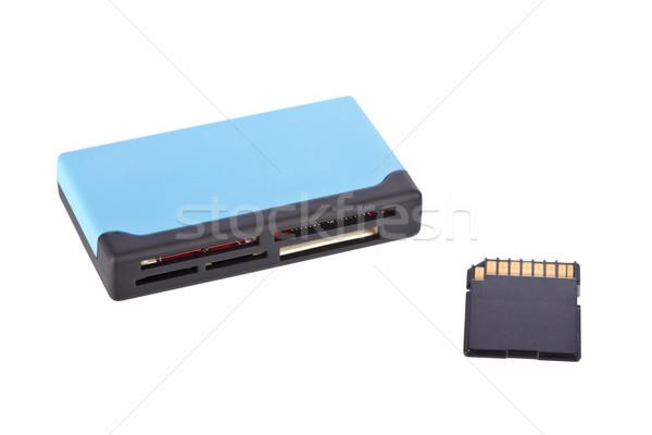 Multimedia card reader Stock photo © broker
