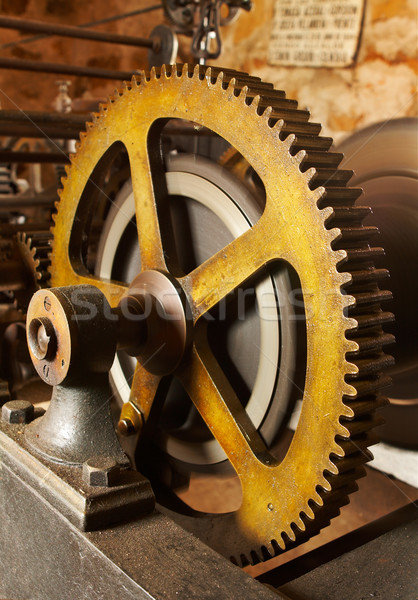 Industrial gears Stock photo © broker