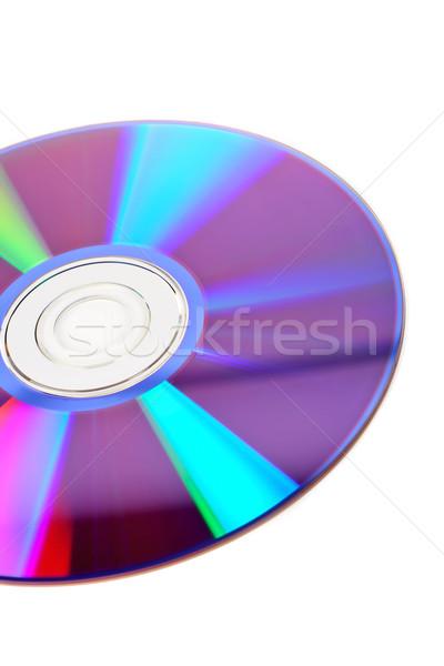 DVD disc detail Stock photo © broker