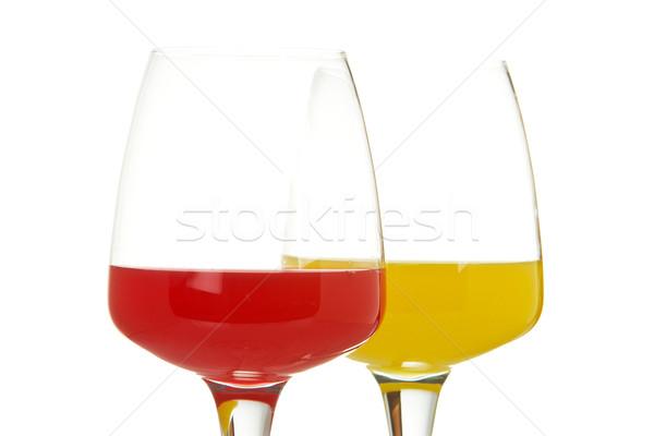 Two glasses Stock photo © broker