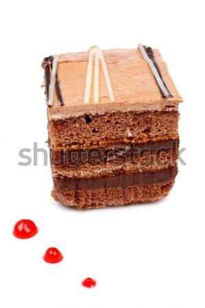 Chocolate cake Stock photo © broker