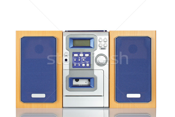 Compact sound system stereo Stock photo © broker