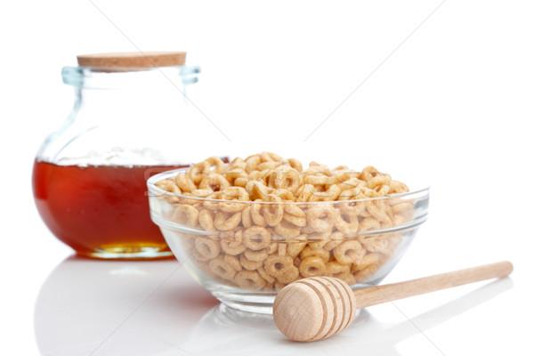 Honey and cheerios Stock photo © broker