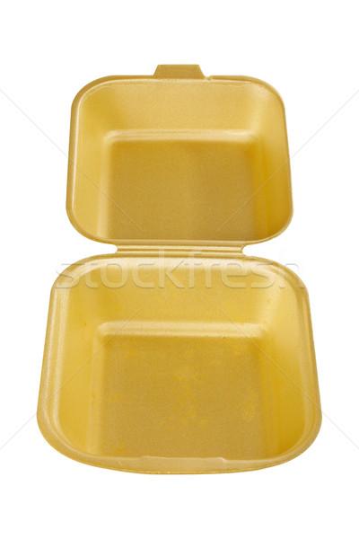 Styrofoam container empty Stock photo © broker
