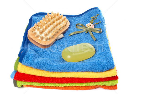 Bathroom items Stock photo © broker