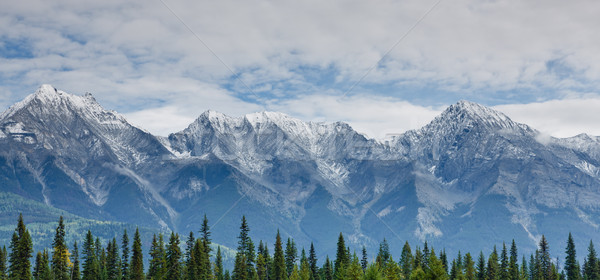 Alcance Canadá parque britânico neve viajar Foto stock © broker