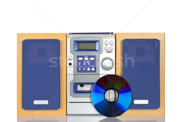 Compact sonores stéréo cd bande technologie Photo stock © broker