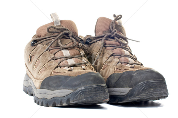 Used hiking boots Stock photo © broker