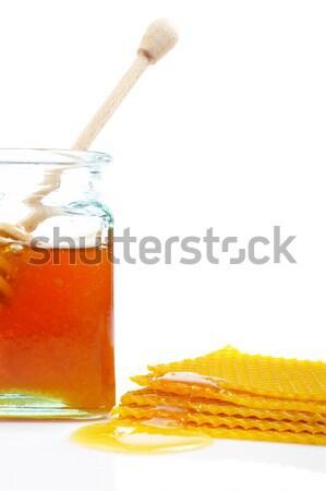 Honeycomb with honey Stock photo © broker