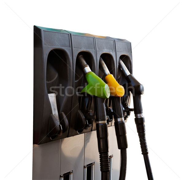 Three gas pump nozzles Stock photo © broker