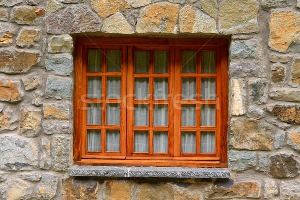 Wooden window Stock photo © broker