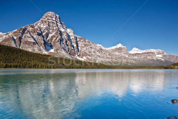 Mount Chephren and Waterfowl Lake, Canada Stock photo © broker