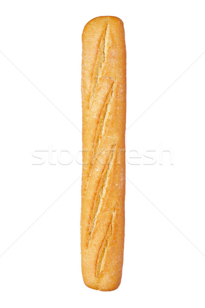 Français baguette isolé blanche alimentaire pain Photo stock © broker