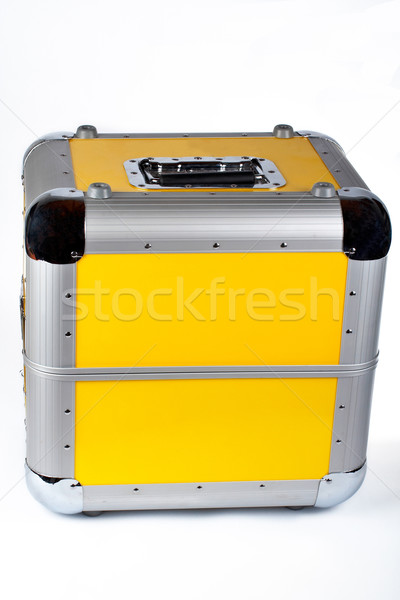 Disc Jockey suitcase Stock photo © broker