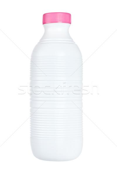 Plastic bottle of fresh milk Stock photo © broker