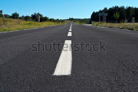 Lonely road Stock photo © broker