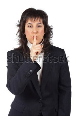 Quiet Stock photo © broker