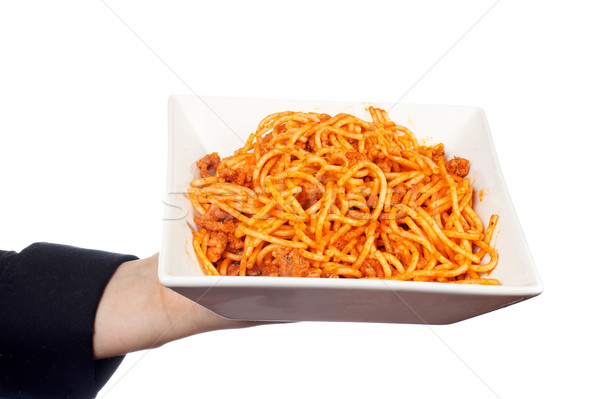 Spaghetti bolognese  Stock photo © broker