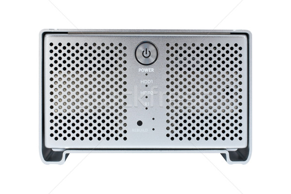External hard drive front view Stock photo © broker