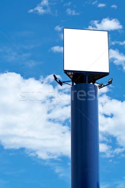 Blank billboard, just add your text Stock photo © broker