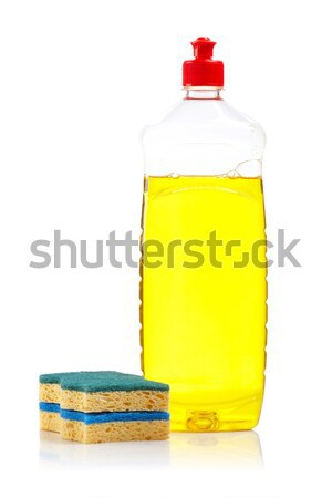 Bottle of dish washing Stock photo © broker