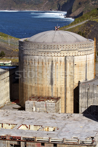 Abandoned Nuclear power station Stock photo © broker