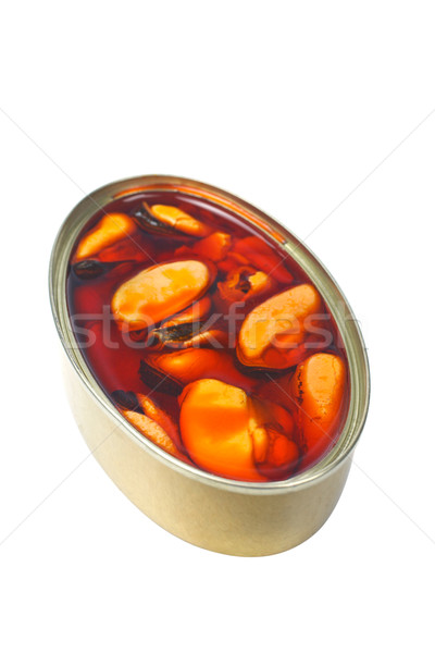 Mussels canned Stock photo © broker