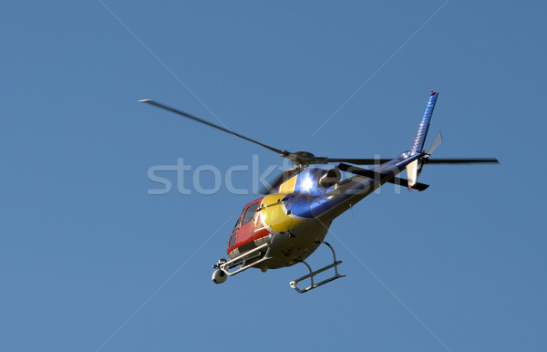 TV news helicopter Stock photo © broker