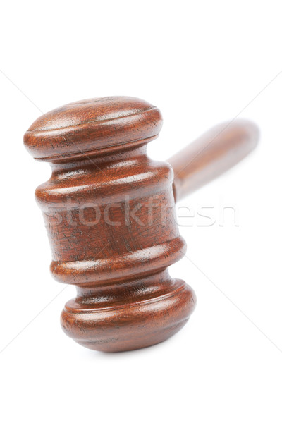 Wooden gavel Stock photo © broker