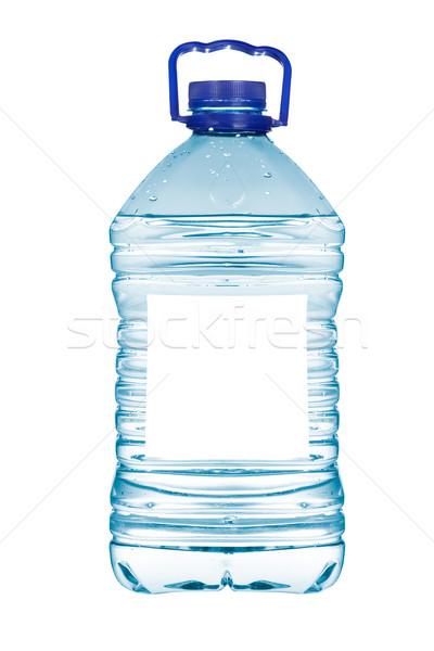 Garrafa água mineral isolado branco água Foto stock © broker