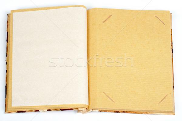 Antichi scrapbook uno immagine pagina Foto d'archivio © broker