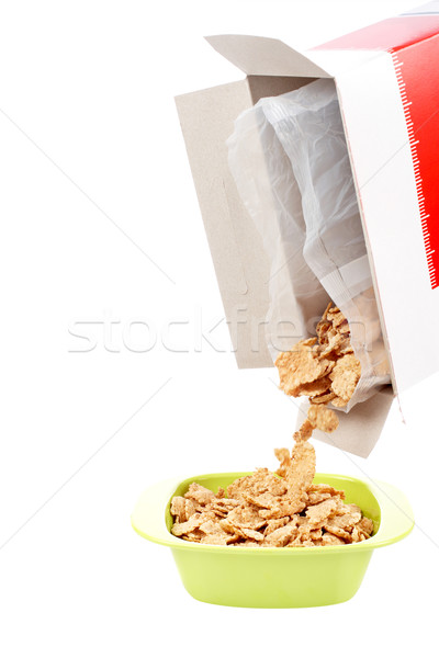 Bowl of cornflakes Stock photo © broker