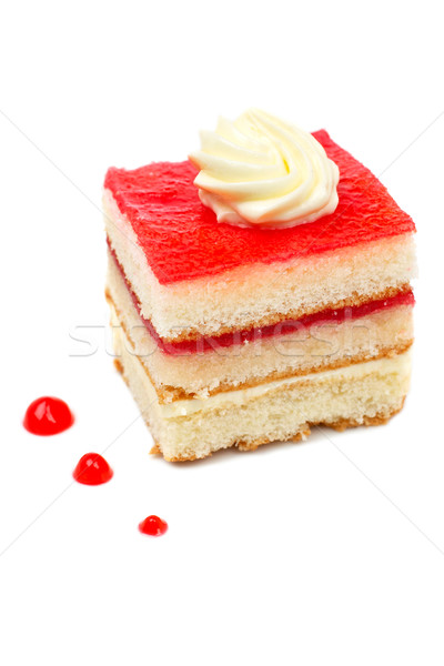 Delicious cake Stock photo © broker