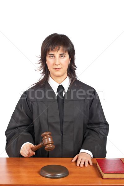 Verdict Stock photo © broker