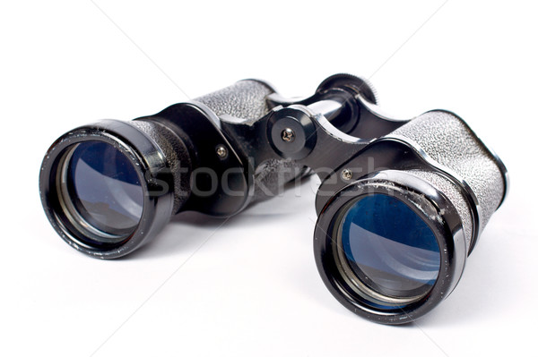 Used black binoculars Stock photo © broker
