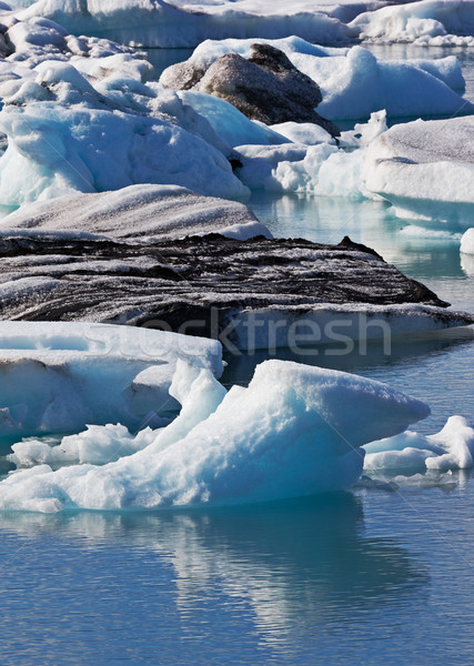 Jokulsarlon Glacial Lagoon, Vatnajokull, Iceland Stock photo © broker
