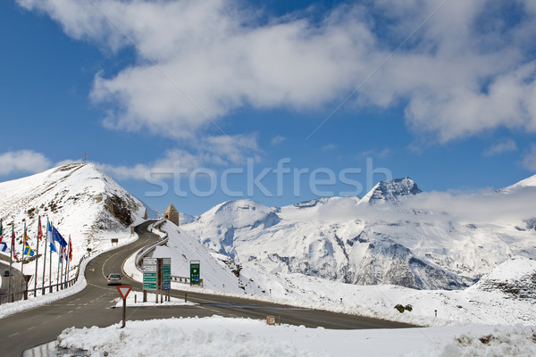 Grossglockner high alpine road Stock photo © broker