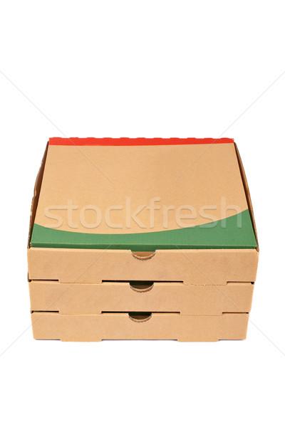 Photo stock: Cases · carton · soft · ombre · blanche · papier