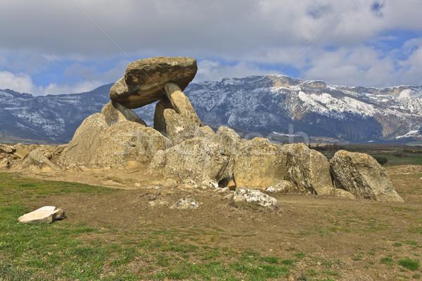 могилы каменные древних возраст традиция Сток-фото © broker