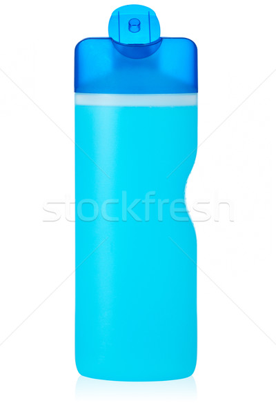 Plastic fles zeep shampoo label Stockfoto © broker