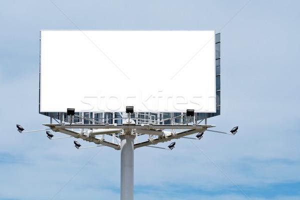 Blank billboard, just add your text Stock photo © broker