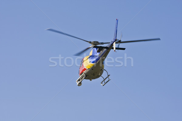 Helicopter with camera Stock photo © broker